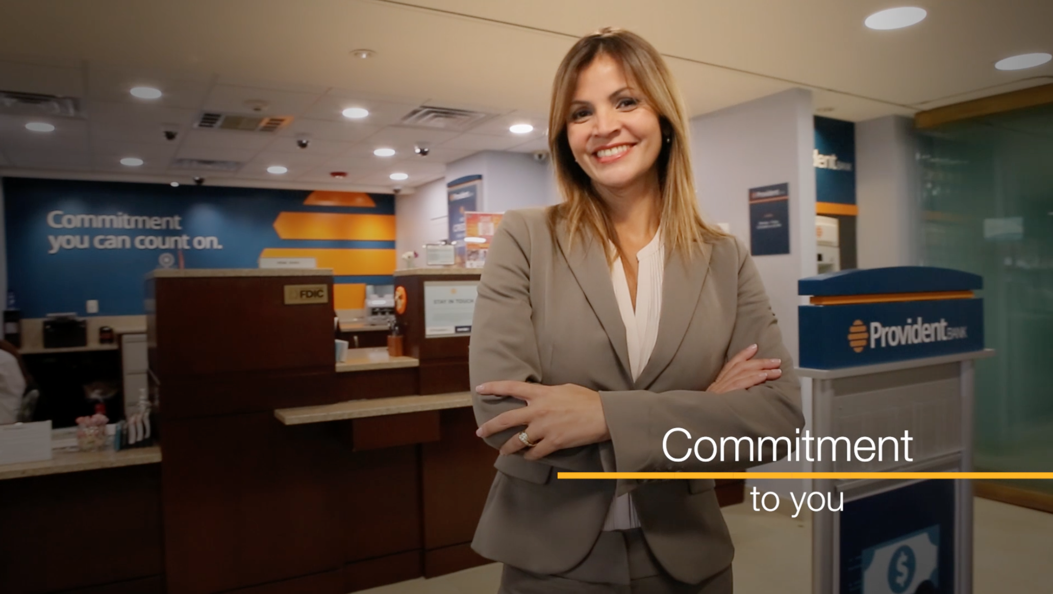 "Provident Bank's ""Commitment You Can Count On"" Videos"
